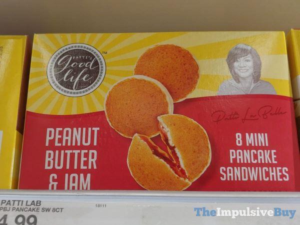 Patti s Good Life Peanut Butter  Jam Mini Pancake Sandwiches