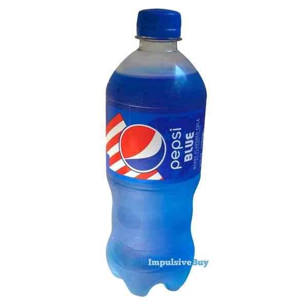 Pepsi Blue 2021 Bottle