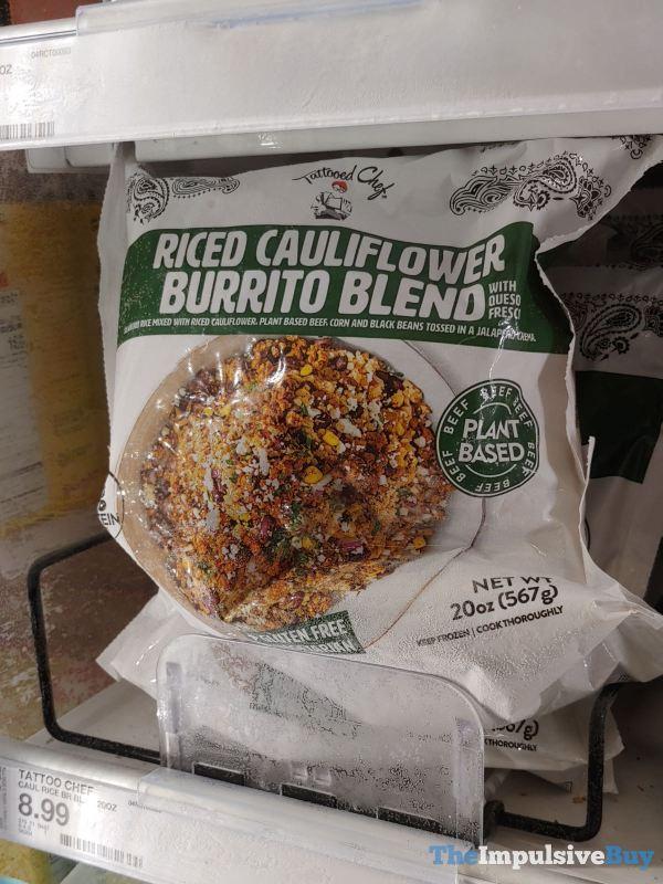Tattooed Chef Riced Cauliflower Burrito Blend