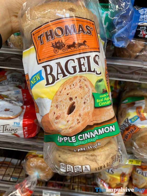 Thomas Apple Cinnamon Bagels