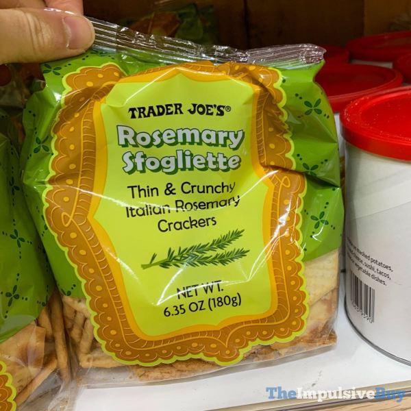 Trader Joe s Rosemary Sfogliette