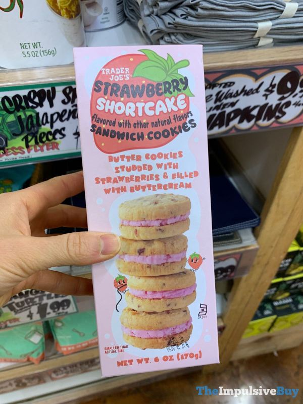 Trader Joe s Strawberry Shortcake Sandwich Cookies