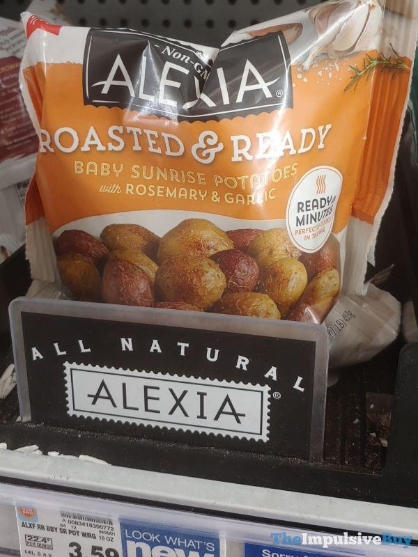 Alexia Roasted  Ready Baby Sunrise Potatoes with Rosemary  Garlic