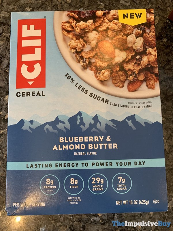 Clif Cereal Blueberry  Almond Butter