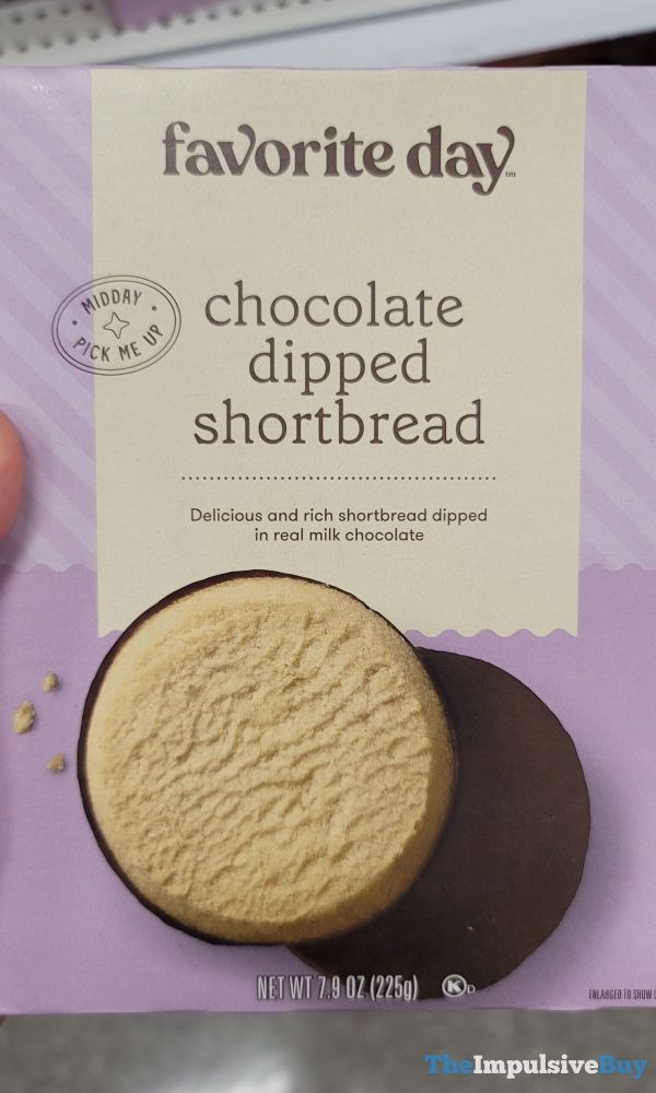 Favorite Day Chocolate Dipped Shortbread