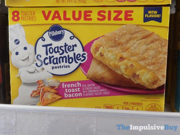 Pillsbury French Toast Bacon Toaster Scrambles