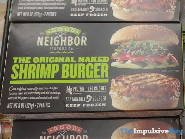 Good Neighbor Seafood Co The Original Naked Shrimp Burgers