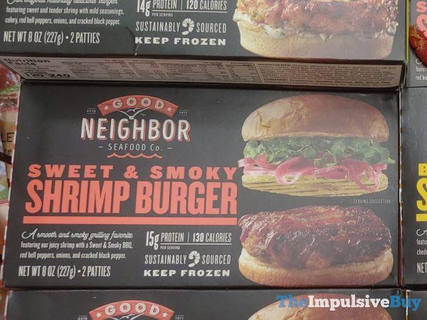 Good Neighbor Seafood Co Sweet  Smoky Shrimp Burger