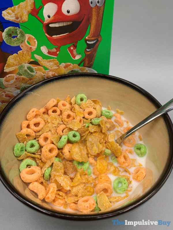 Kellogg s Mashups Frosted Flakes + Apple Jack Cereal Milk