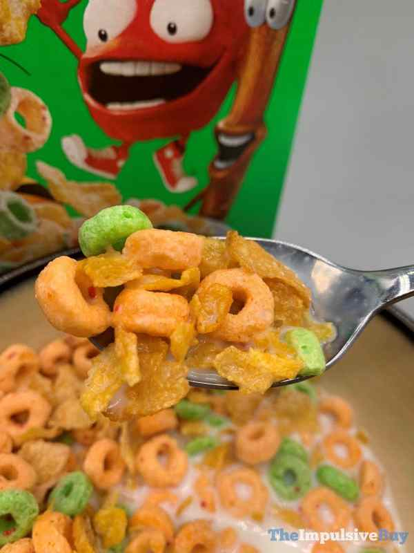 Kellogg s Mashups Frosted Flakes + Apple Jack Cereal Spoon
