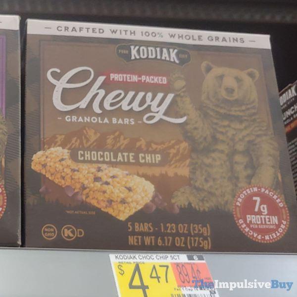 Kodiak Chocolate Chip Chewy Granola Bars