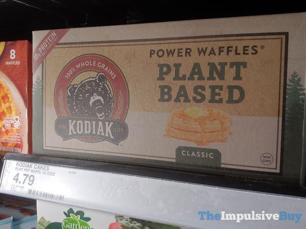 Kodiak Classic Plant Based Power Waffles