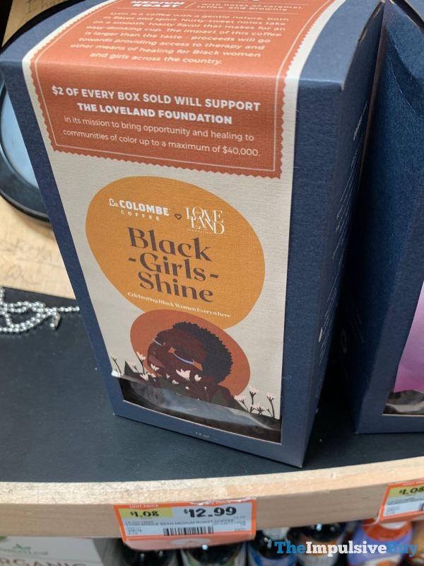La Colombe + The Loveland Foundation Black Girls Shine Coffee