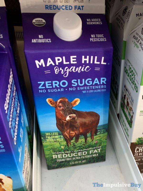 Maple Hill Organic Reduced Fat Milk