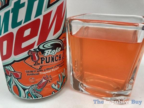 Mtn Dew Baja Punch Closeup