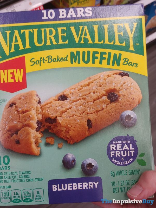 Nature Valley Blueberry Soft Baked Muffin Bars