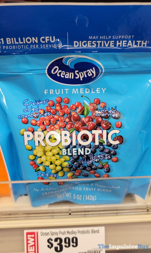 Ocean Spray Fruit Medley Probiotic Blend