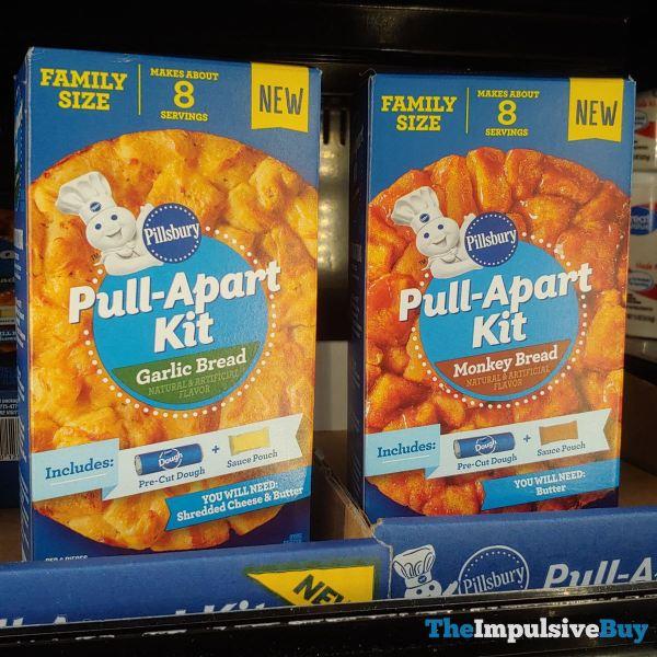 Pillsbury Pull Apart Kit  Garlic Bread and Monkey Bread