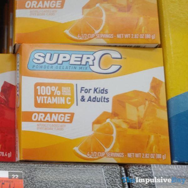 SuperC Powder Gelatin Mix Orange