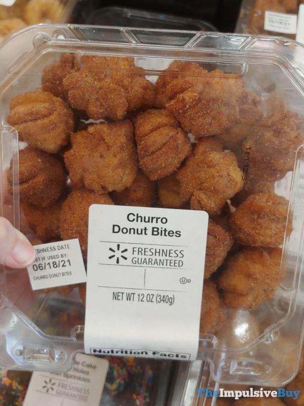 Walmart Churro Donut Bites