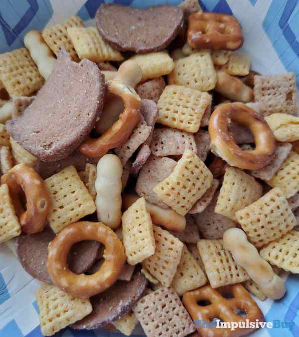 White Cheddar Chex Mix Mixed
