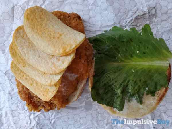Wendy s Spicy Chicken Pringles Topping