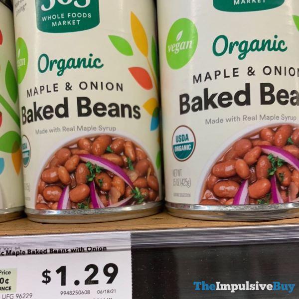 365 Whole Foods Market Organic Maple  Onion Baked Beans