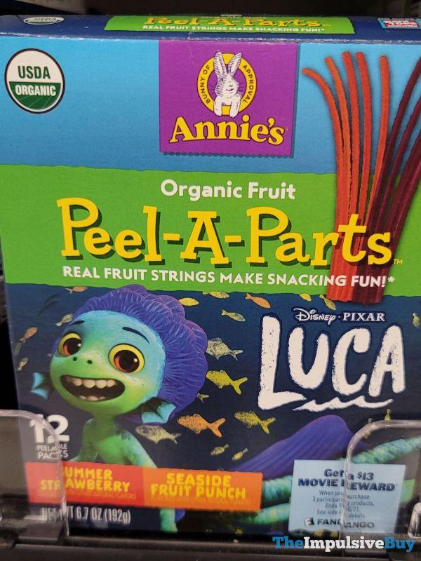 Annie s Disney Pixar Luca Peel A Parts
