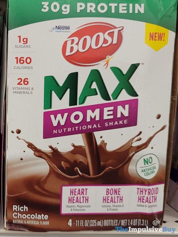 Boost Max Women Rich Chocolate Nutritional Shake