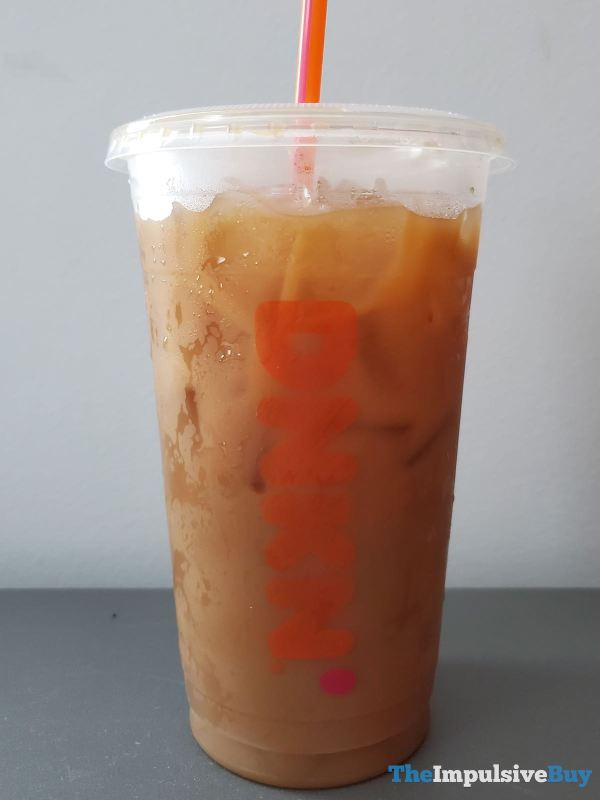 Dunkin Smoked Vanilla Cold Brew Cup