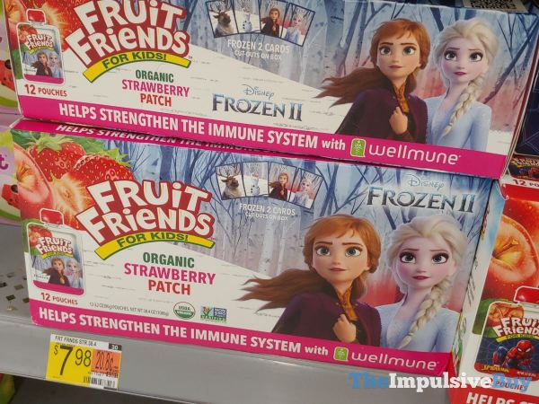 Fruit Friends Disney Frozen Organic Strawberry Patch