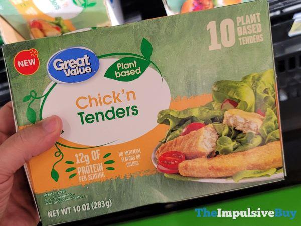 Great Value Plant Based Chick n Tenders