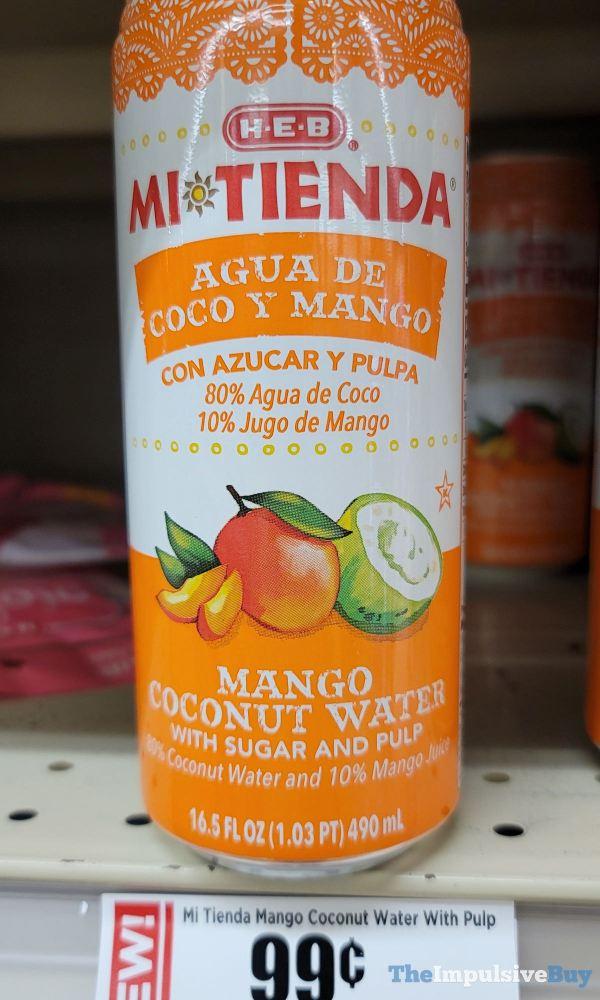 H E B Mi Tienda Mango Coconut Water