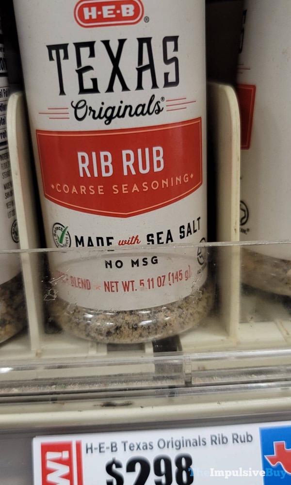 H E B Texas Originals Rib Rub