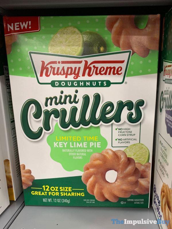 Krispy Kreme Limited Time Key Lime Pie Mini Crullers