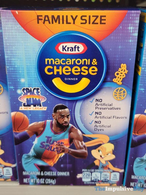 Kraft Macaroni  Cheese Space Jam A New Legacy Lebron Dribbling Design