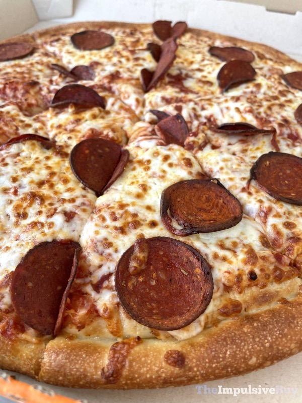 Little Caesars Planteroni Pizza Pepperoni