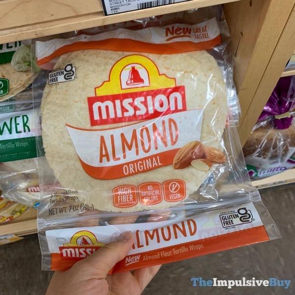 Mission Original Almond Tortilla Wraps