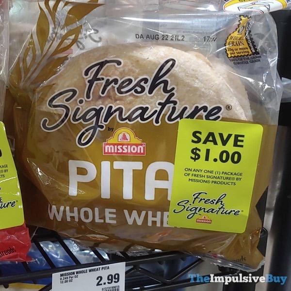 Mission Fresh Signature Whole Wheat Pitas