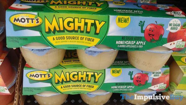 Mott s Mighty Honeycrisp Apple Applesauce