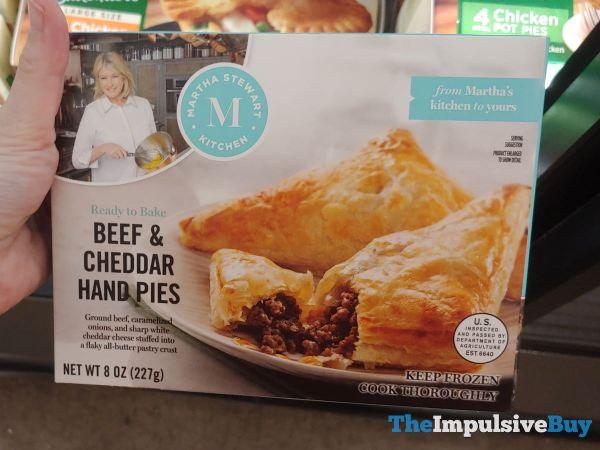 Martha Stewart Kitchen Beef  Cheddar Hand Pies