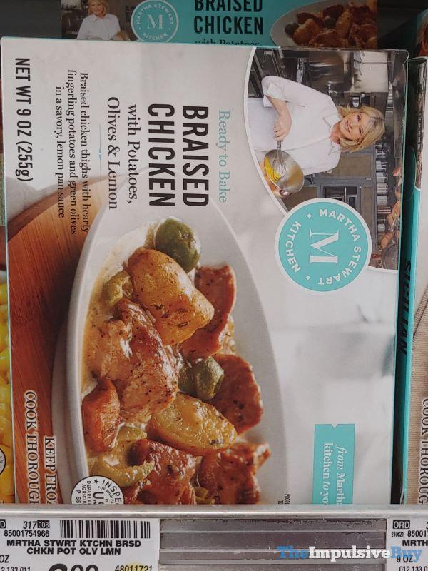 Martha Stewart Kitchen Braised Chicken