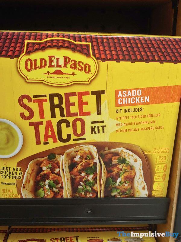 Old El Paso Asado Chicken Street Taco Kit