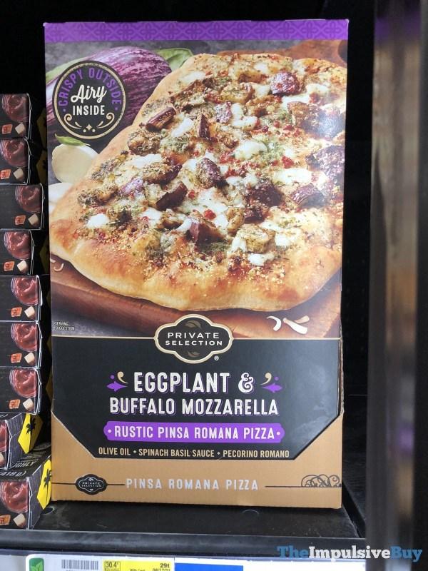 Private Selection Eggplant  Buffalo Mozzarella Rustic Pinsa Romana Pizza