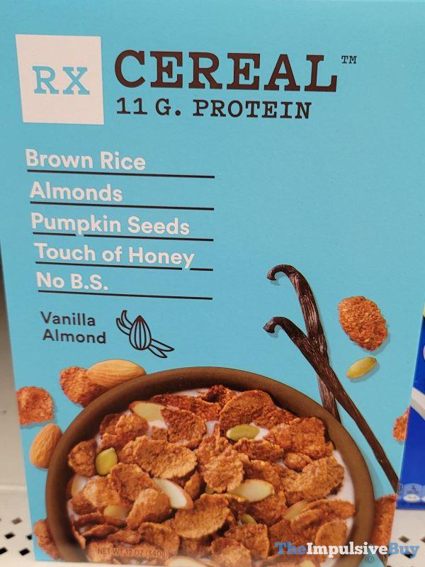 RX Cereal Vanilla Almond