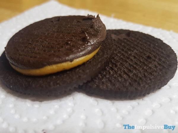 Limited Edition Salted Caramel Brownie Oreo Cookies Brownie Side