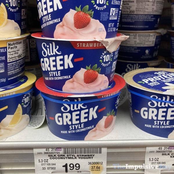 Silk Greek Style Strawberry Yogurt Alternative