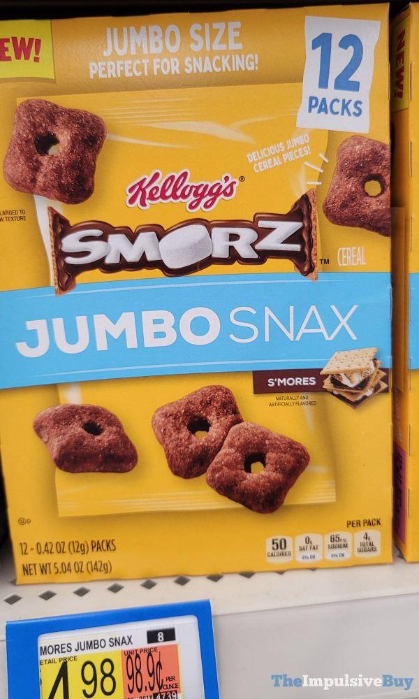 Kellogg s Smorz Jumbo Snax