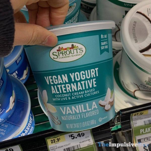 Sprouts Vanilla Vegan Yogurt Alternative