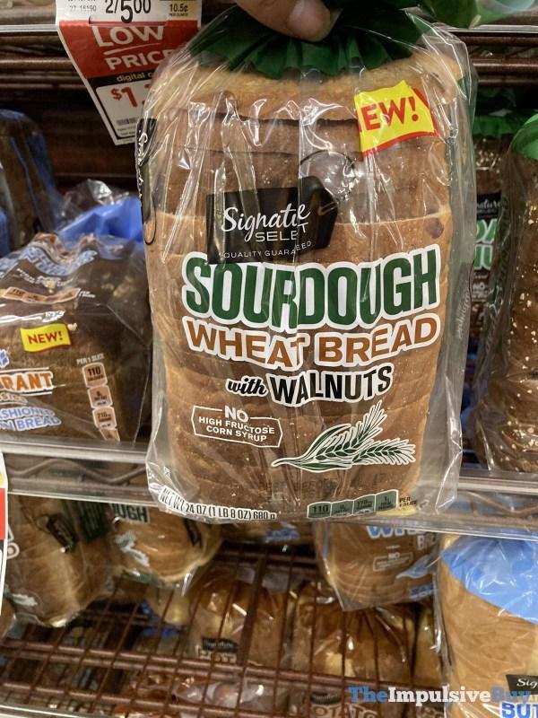 Signature Select Sourdough Wheat Bread with Walnuts